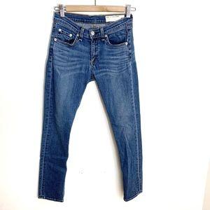 rag & bone 26 Skinny Crop Jeans